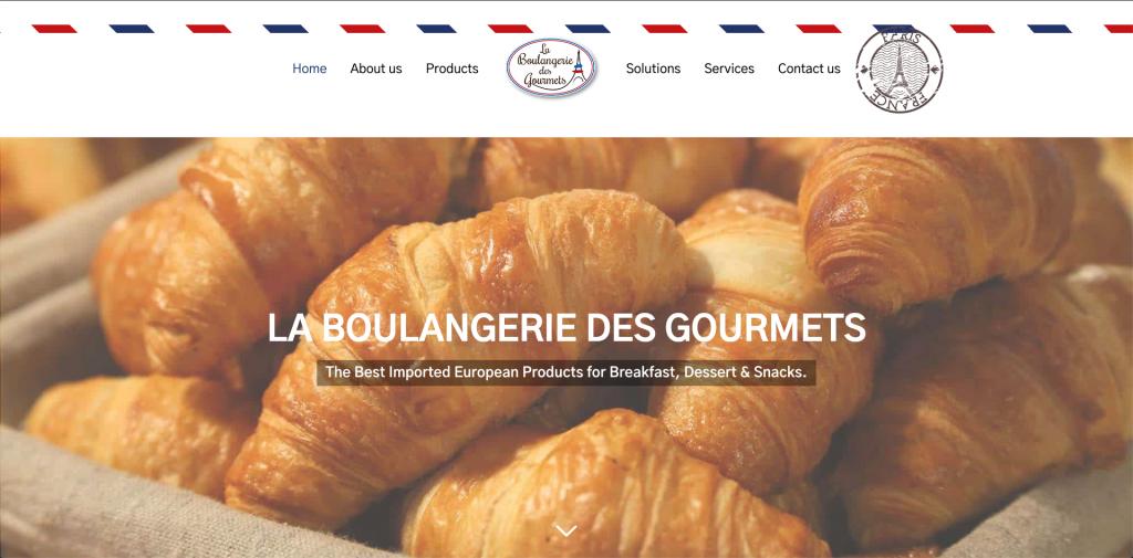 La Boulangerie des Gourmets