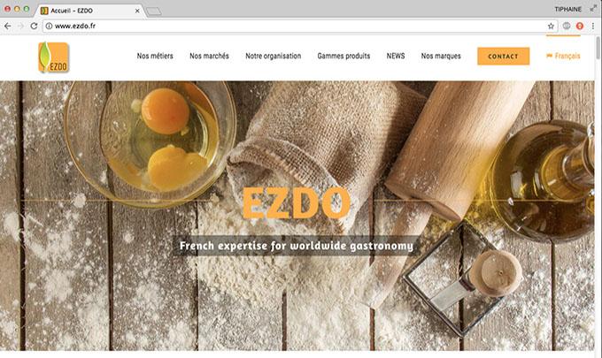 Tiphaine Pellé Cyanne création site EZDO